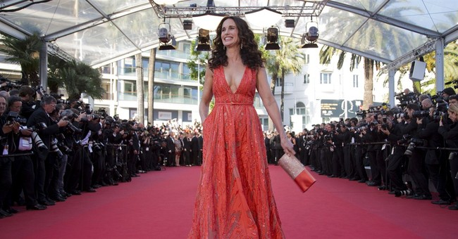 CANNES WATCH: Andie MacDowell stuns in coral gown