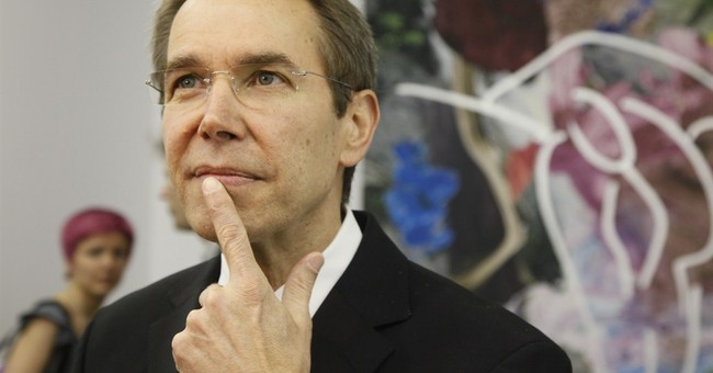CANNES WATCH:  Koons work to be auctioned off for charity