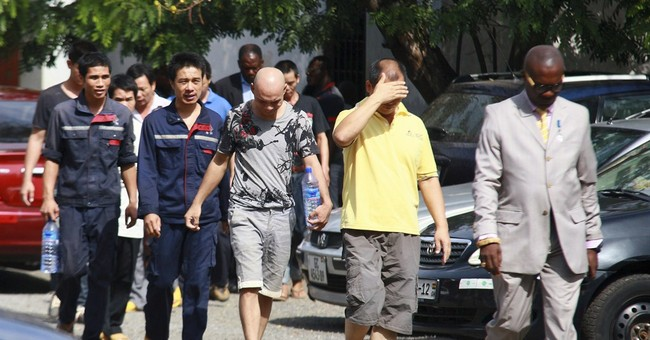 10 Chinese nationals charged with illegal firearms in Ghana