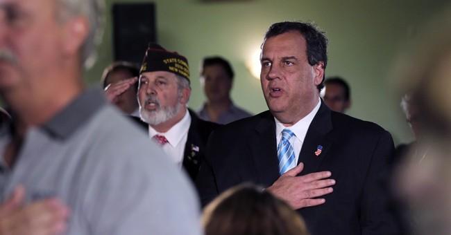 Christie cites experience running against female opponent