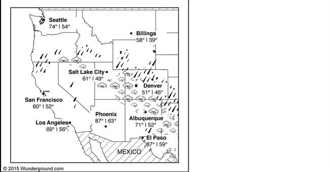 Storm causes minor flooding in Utah; Colorado due next