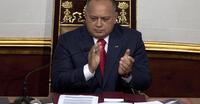 Venezuela's No. 2 denies any involvement in drug trafficking