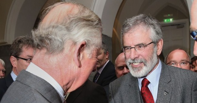 UK's Prince Charles meets Sinn Fein in Ireland for 1st time