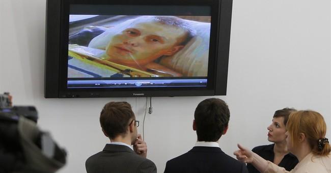 Russians captured in Ukraine send messages back home