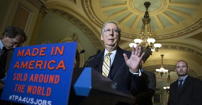 Obama, Senate GOP work together on trade bill