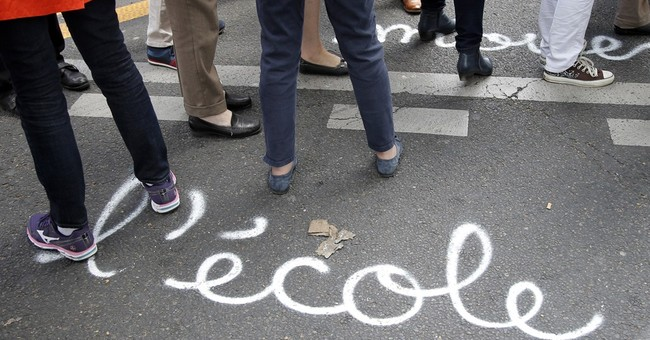 Unequal schools in France prompt strike, soul-searching