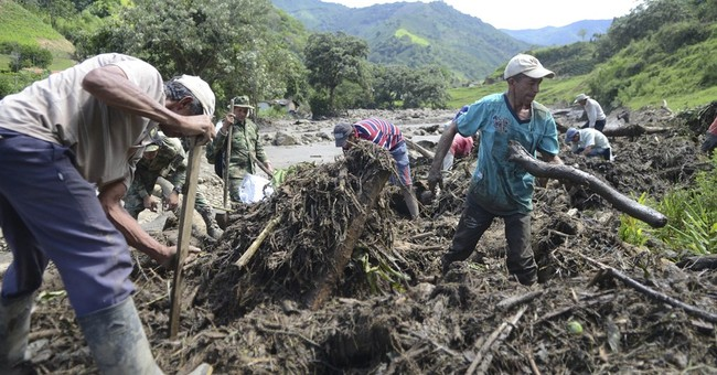 Colombians celebrate baby's miracle survival from mudslide