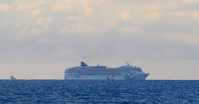 Cruise ship freed after running aground off Bermuda