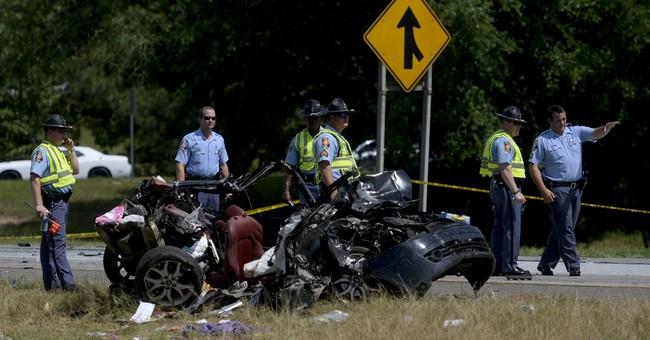 Police chief: 5 dead in crash on interstate near Savannah