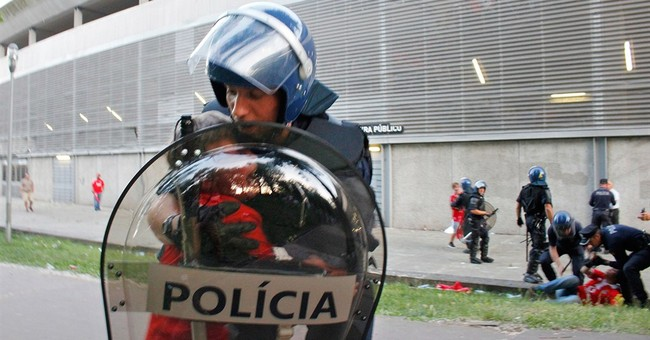 Portugal investigates police beating of man at soccer game