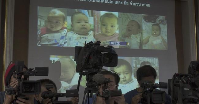 Surrogate moms sue Thai ministry for custody of 13 children