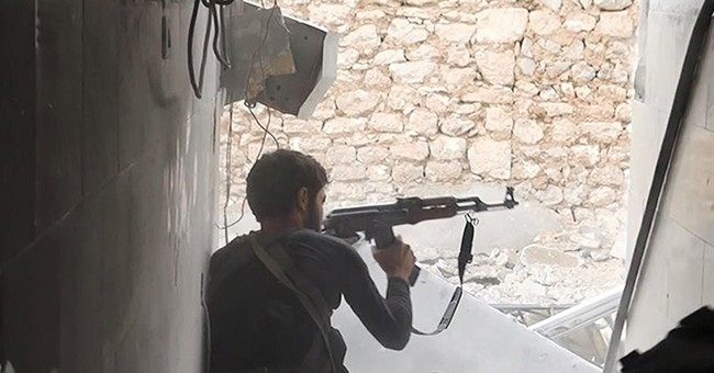 Islamic State group losing ground in symbolic Kobani battle