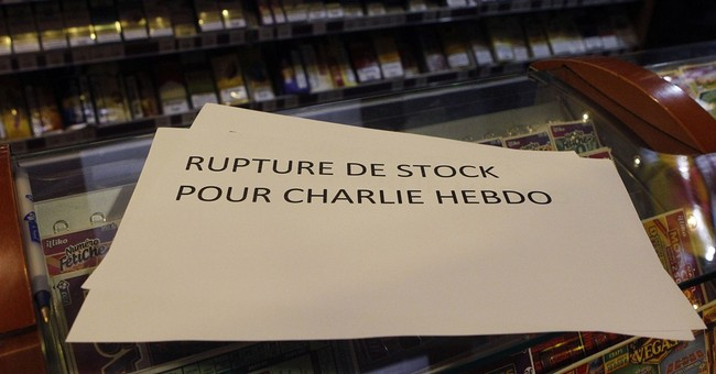 New issue of Charlie Hebdo sells out quickly