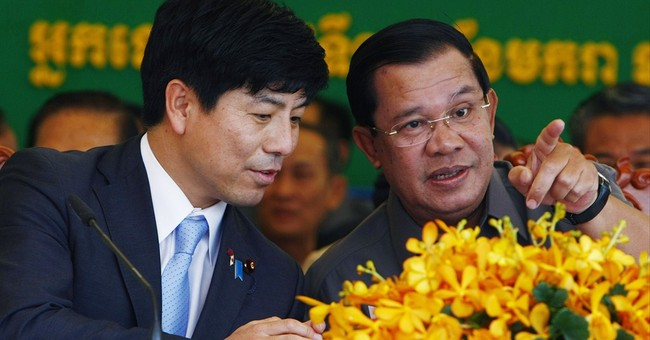 Critics dog Cambodia's leader as he marks 30 years in power