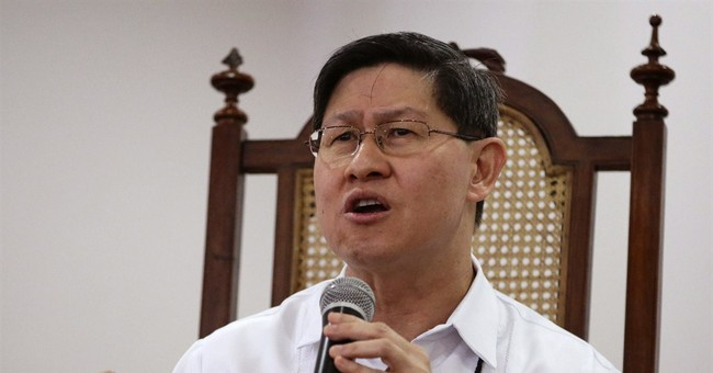 Pope's Filipino host is a humble, rising church star