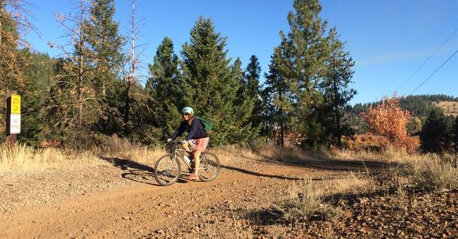 Slow and steady biking Idaho's remote Weiser River Trail