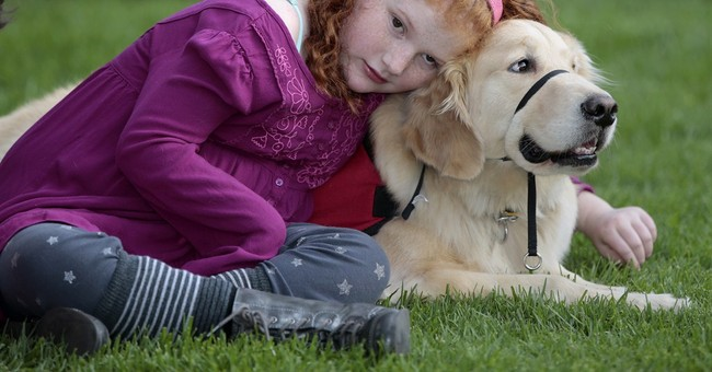 Service dogs that sniff out seizures improve kids' lives
