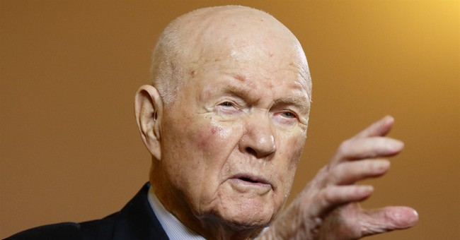 John Glenn: Evolution should be taught in schools