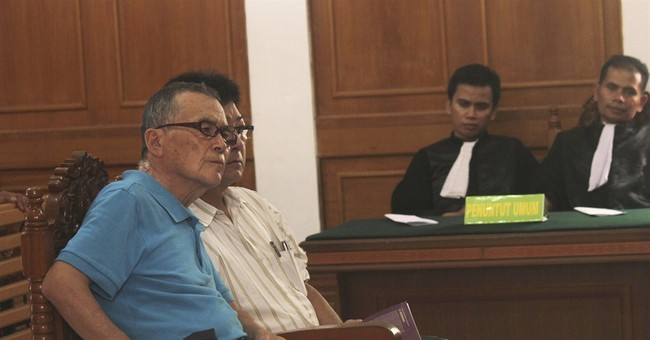Japanese grandfather gets life term in Indonesia drug case