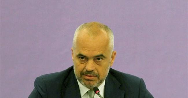 Albania says could block Macedonia's NATO bid