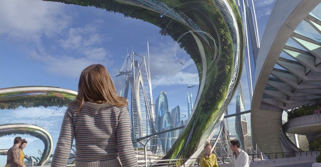 Review: 'Tomorrowland' likeable and fun, but tries too hard
