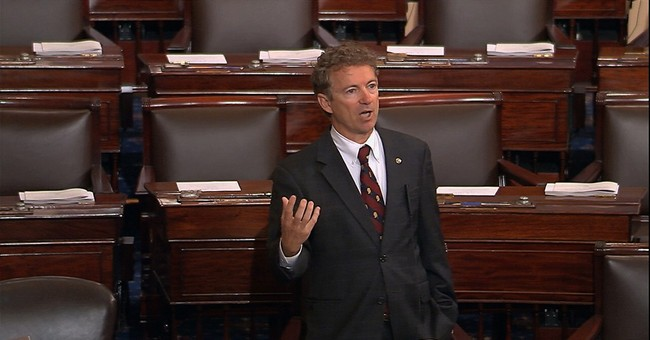 Paul commandeers Senate to protest Patriot Act