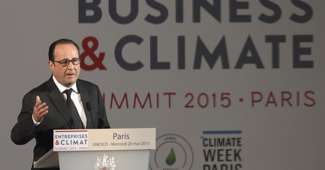 France wants business world to help curb climate change