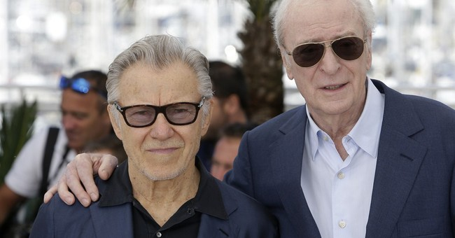 Michael Caine has press in fits of laughter in Cannes