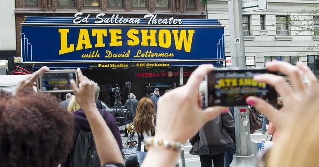 Final Top 10 list for David Letterman