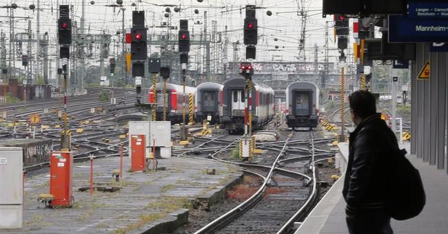 Millions of German commuters hit by rail strike