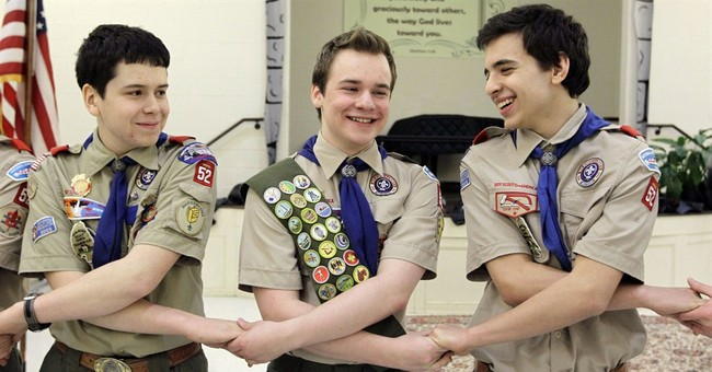 Boy Scouts' leader says ban on gay adults not sustainable
