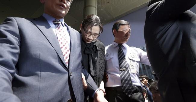 South Korean court frees Korean Air 'nut rage' executive