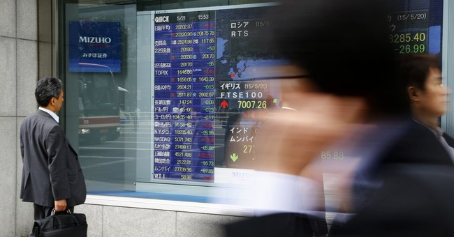 World stocks uneven after Chinese, eurozone data
