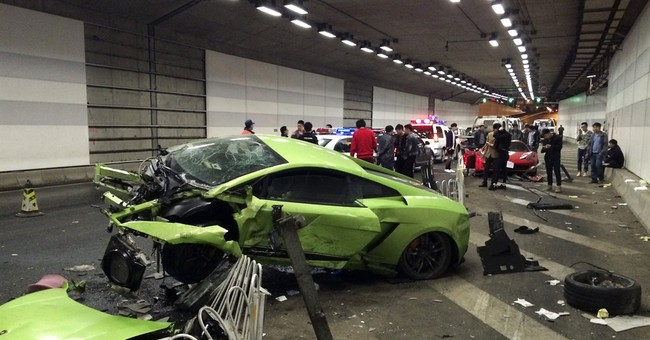 Beijing court jails 2 over drag-racing supercar smashup