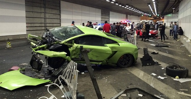 Beijing court jails 2 over drag-racing supercar smashup