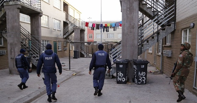 South African police arrest thousands in raids