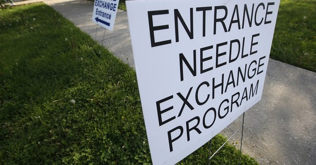 Indiana approves 1st needle-exchange program under new law