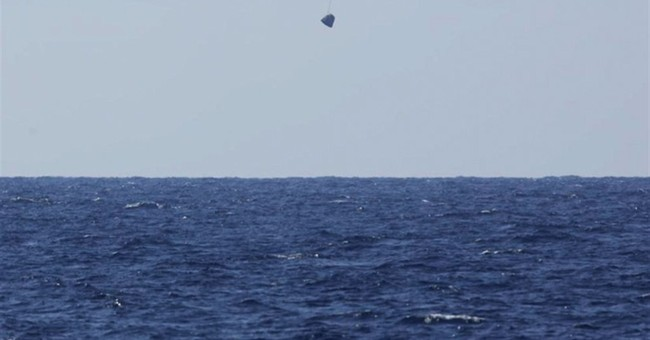 Back home on Earth: SpaceX craft returns from space station