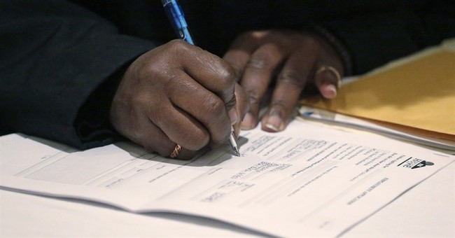 Applications for US jobless aid up, but from very low level