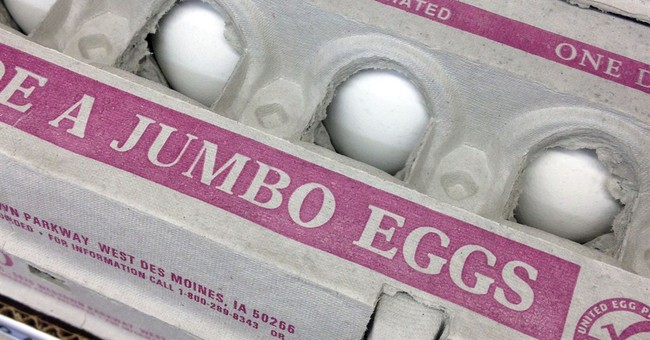 Egg prices surge to record on shortage caused by bird flu