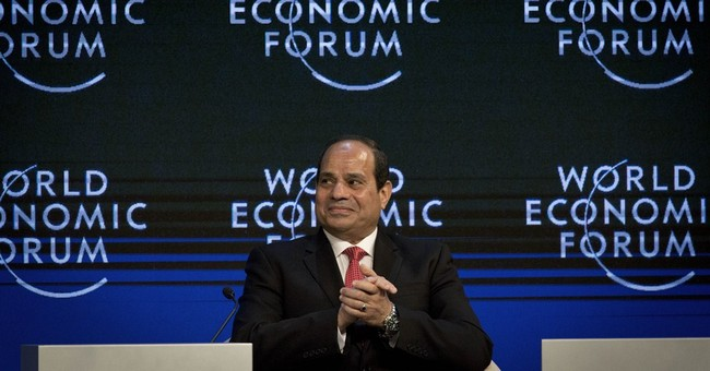 AP Analysis: At Mideast forum, hopes for future amid chaos