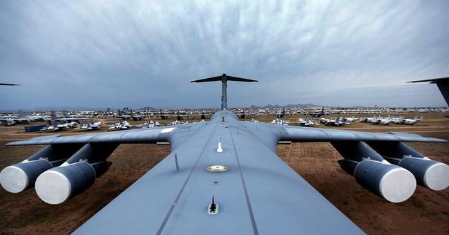 PHOTO ESSAY: Arizona site holds 'bones' of 4,000 planes