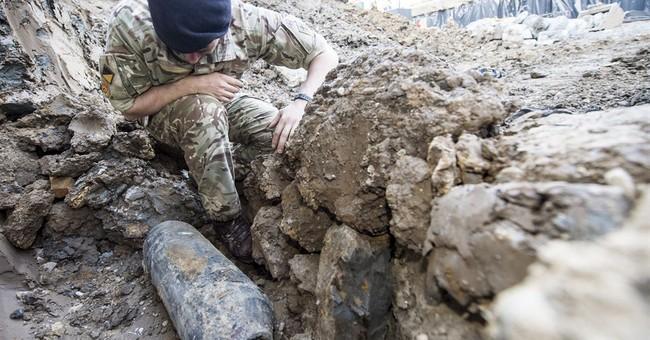 Army removes WWII bomb near London's Wembley Stadium