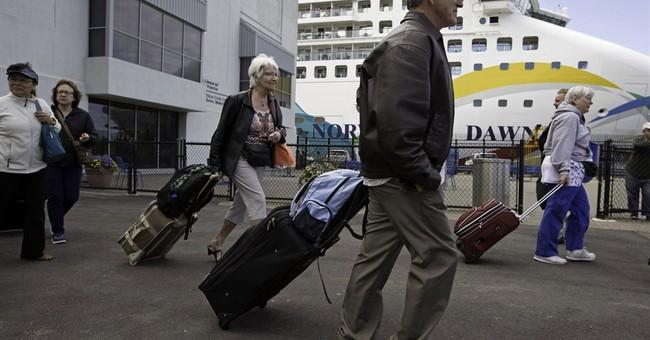 Cruise ship that ran aground near Bermuda returns to Boston