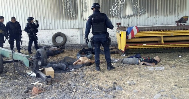 Mexico: 43 dead in 3-hour firefight on ranch in west
