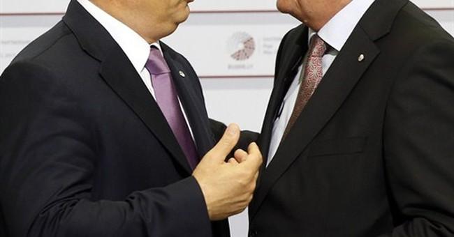 EU chief Juncker calls Hungary's Orban 'dictator' _ in jest