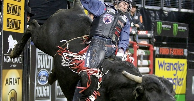 Not even helmets help pro bull riders stave off concussions