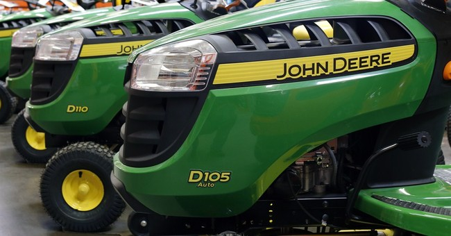 Deere boosts guidance as construction offsets ag swoon