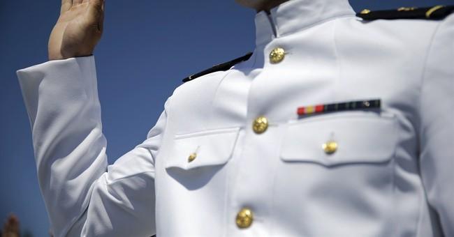 Biden discusses Asia-Pacific region at Navy graduation
