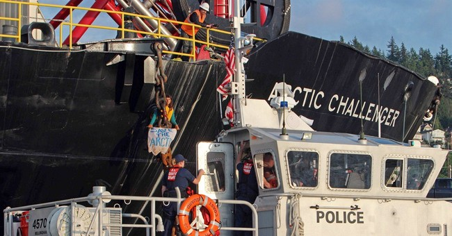Clarification: Arctic Drilling Protests story